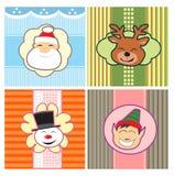 Testes padrões do Natal Foto de Stock