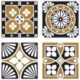 Testes padrões do Ornamental do vintage Imagem de Stock Royalty Free