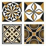 Testes padrões do Ornamental do vintage Fotografia de Stock