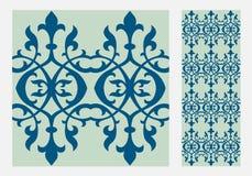 Testes padrões do projeto do ofício da parede da telha do vintage Fotos de Stock Royalty Free