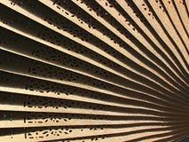 Testes padrões do ventilador Foto de Stock Royalty Free