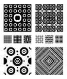Testes padrões do vetor Fotografia de Stock