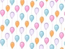 testes padrões dos balões Foto de Stock Royalty Free