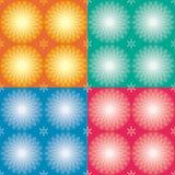 Testes padrões dos círculos ajustados Foto de Stock