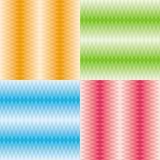 Testes padrões dos rombos ajustados Fotos de Stock