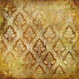 Testes padrões dourados Imagens de Stock