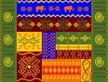 Testes padrões e ornamento étnicos