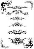 testes padrões e ornamento Imagens de Stock Royalty Free