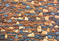 testes padrões e texturas das paredes de pedra foto de stock royalty free