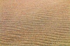 Testes padrões e texturas do fundo da areia da praia Imagem de Stock
