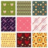 Testes padrões encantadores Imagem de Stock