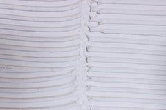 Testes padrões entalhados adesivo do trowel da telha Fundo esparadrapo foto de stock