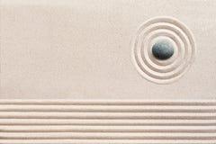 Testes padrões estéticos em Zen Garden japonês Fotos de Stock