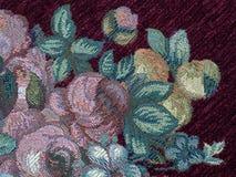 Testes padrões florais Fotografia de Stock Royalty Free