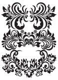 Testes padrões florais do vetor Imagens de Stock