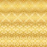 Testes padrões florais dourados sem emenda Imagem de Stock Royalty Free