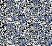 Testes padrões florais japoneses Foto de Stock
