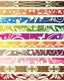 Testes padrões florais para o projeto ilustração royalty free