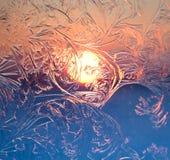 Testes padrões gelados Foto de Stock