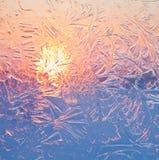 Testes padrões gelados Imagem de Stock