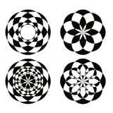 Testes padrões geométricos 1 fotos de stock