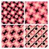 Testes padrões geométricos Imagem de Stock