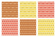 Testes padrões geométricos Imagem de Stock Royalty Free