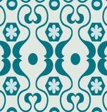 Testes padrões geométricos azuis Imagens de Stock