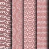 Testes padrões geométricos, castanhos-aloirados Imagens de Stock Royalty Free
