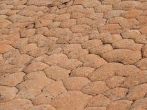 Testes padrões geométricos da erosão no arenito; cena em torno da área nacional da conservação dos penhascos vermelhos nos outeir Imagem de Stock