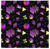 Testes padrões geométricos primitivos sem emenda do minimalismo Foto de Stock