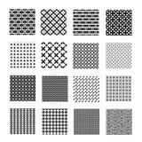 Testes padrões geométricos sem emenda Foto de Stock