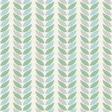 Testes padrões geométricos sem emenda do fundo das folhas nas cores pastel em um fundo bege ilustração stock
