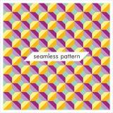 Testes padrões geométricos sem emenda do vetor Forma abstrata texture_4 Imagem de Stock Royalty Free