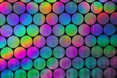 Testes padrões holográficos imagem de stock