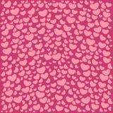 Testes padrões ilustrados vetor do dia do ` s do Valentim Imagem de Stock Royalty Free