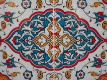 Testes padrões na antiguidade das telhas Imagens de Stock Royalty Free