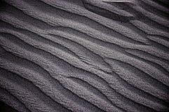 Testes padrões na areia Foto de Stock