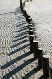 Testes padrões na areia Imagens de Stock Royalty Free