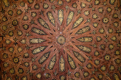 Testes padrões no Alcazar em Sevilha Fotos de Stock