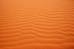 Testes padrões no deserto - paisagem da areia Foto de Stock Royalty Free