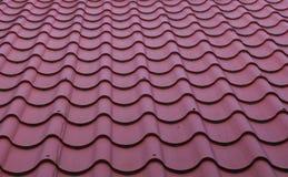 Testes padrões no telhado Fotografia de Stock