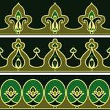 Testes padrões persas Imagem de Stock
