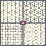 Testes padrões pontilhados ajustados. Fotos de Stock