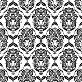 Testes padrões pretos abstratos dos papéis de parede Foto de Stock Royalty Free