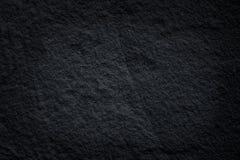 Testes padrões pretos da pedra da ardósia ou sumário natural da textura cinzenta escura da pedra no fundo foto de stock
