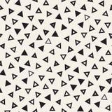 Testes padrões primitivos sem emenda do minimalismo do desordem Foto de Stock