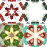 Testes padrões sem emenda étnicos lisos Fotografia de Stock Royalty Free