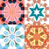Testes padrões sem emenda étnicos lisos Imagem de Stock
