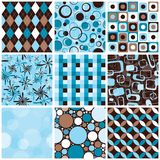 Testes padrões sem emenda Fotografia de Stock